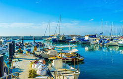 The fishing port Stock Images
