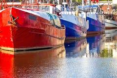 Fishing port of Ustka Royalty Free Stock Photography