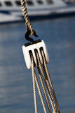 Fishing pulley Royalty Free Stock Images