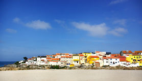Fishing quarter, Peniche. Royalty Free Stock Image