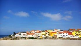 Fishing quarter, Peniche. Royalty Free Stock Image