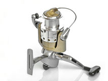Fishing Reel. The Spinning reel for fishing Stock Image