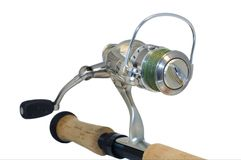 Fishing reel Stock Images
