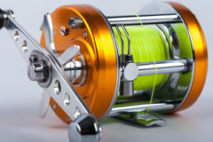 The fishing reel Stock Photos