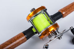 The fishing reel Stock Photography
