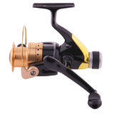 Fishing reel (Clipping path) Royalty Free Stock Photography