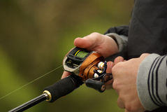 Fishing reel royalty free stock images
