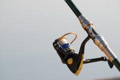 Fishing reel Stock Image