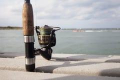 Fishing Reel Royalty Free Stock Photography