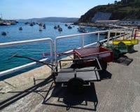 Fishing reels - Malpica Bergantinos - Spain Stock Images