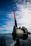 A Fishing Rod Stock Image