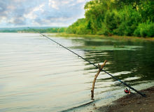 Fishing-rod Royalty Free Stock Photo