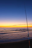 Fishing rod Stock Photography