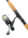 Fishing rod royalty free stock image
