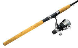 Fishing rod Stock Image