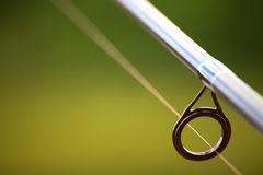 Fishing rod detail Royalty Free Stock Images
