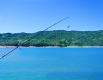 Fishing rod Royalty Free Stock Photos