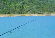 Fishing rod Stock Photo