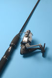 Fishing Rod and Reel. Sports equipment used for angling stock image