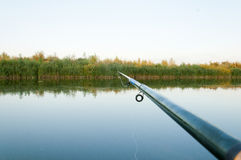 Fishing rod to catch fish Royalty Free Stock Photo
