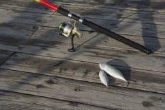 Fishing rod Royalty Free Stock Photo