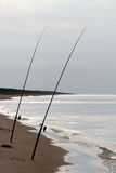 Fishing rods. Royalty Free Stock Photography