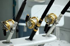 Free Fishing Rods Royalty Free Stock Photos - 358558
