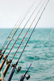 Fishing Rods Stock Image