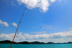 Fishing Rods Stock Photo