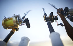 Free Fishing Rods Early In The Morning Stock Photos - 13760443