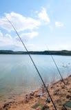 Fishing rods Stock Photo