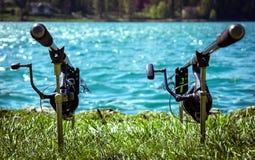 Fishing rods Stock Image