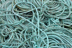 Fishing rope Royalty Free Stock Photo