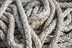 Fishing rope Royalty Free Stock Photos