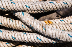 Fishing ropes Royalty Free Stock Photo