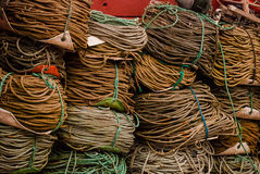 Alaskan Fishing Ropes Stock Photos