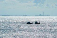 Fishing sea boat Royalty Free Stock Image