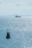 Fishing sea boat Stock Photography