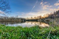 Fishing See Lizenzfreies Stockfoto
