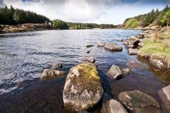 Fishing See Stockbild