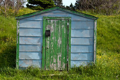 Fishing shack Stock Image
