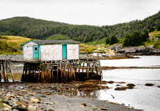 Fishing Shack stock image