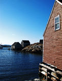 Fishing Shacks Stock Images