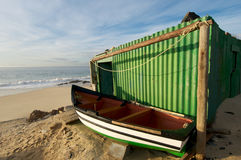 Fishing Shed Cape Town Royalty Free Stock Photography