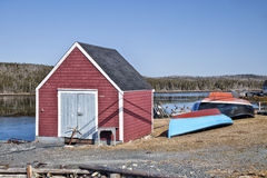 Fishing Shed, Nova Scotia Royalty Free Stock Photos