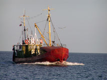 Fishing ship Stock Photography