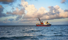 Fishing ship Stock Images