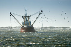 Fishing Ship Stock Photo