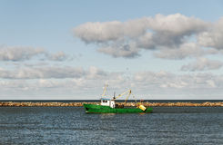 Fishing ship. Royalty Free Stock Photo