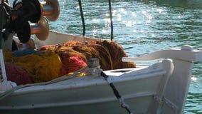 Fishing ship stock video footage